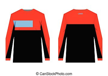 MTB jersey templates - Templates jersey for sublimation...