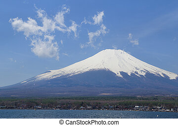 Mt.Fuji at Lake Yamanaka, Japan