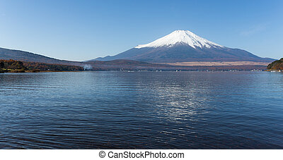 Mt.Fuji at Lake Yamanaka