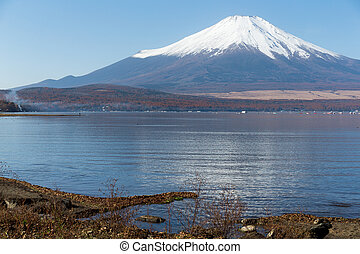 Mt.fuji from yamanaka lake
