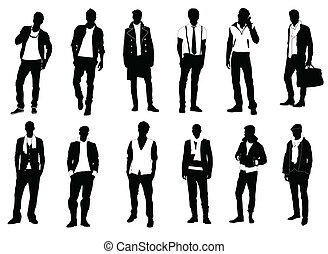 mužský, móda