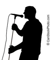 mužský, zpěvák
