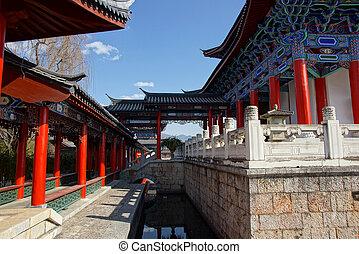 mu, residencia, lijiang, yunnan