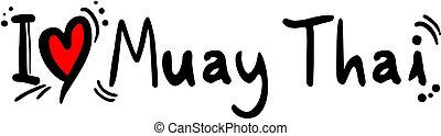 Muay thai love