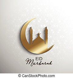 mubarak, eid, fond, minimilistic