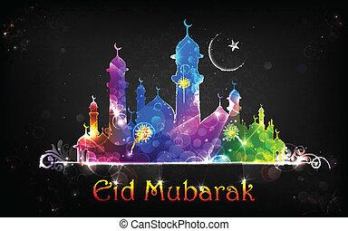 mubarak, eid, hintergrund