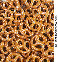 mucchio, pretzel