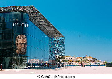 MUCEM building, civilizations museum of Europe and the ...