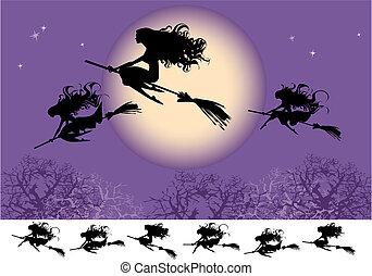 mucha, czarownice