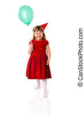 muchacha del cumpleaños