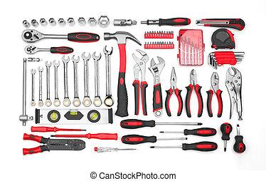 muchos, herramientas