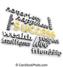 muchos, meanings, su, éxito