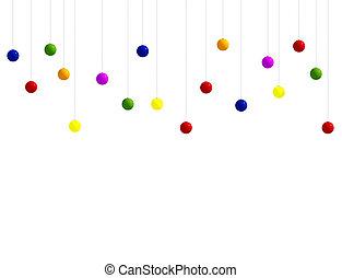 muchos, ornamentos de navidad
