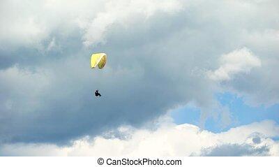 muchy, niebo, nowoczesny, powietrze, wyposażenie, men., ...