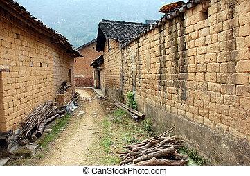 Mud brick wall found in China 2