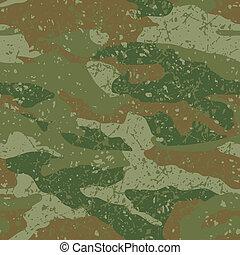 Mud camouflage.