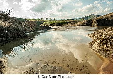 Mud Volcanoes - Romania