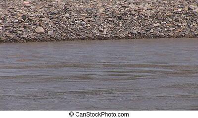 muddy river 7 - muddy stream after rain