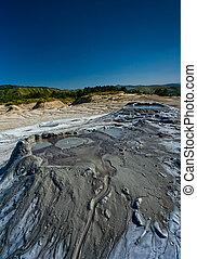 Muddy Volcanoes from Romania