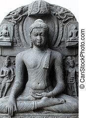 mudra, buddha, bhumisparsha
