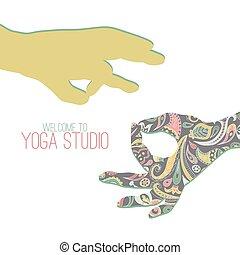 mudra,  yoga