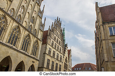 Muenster Germany City buildings