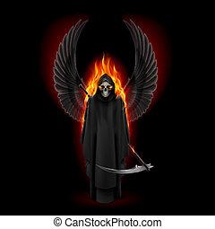 muerte, ángel