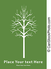 muerte, árbol, señal