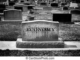 muerte, economía