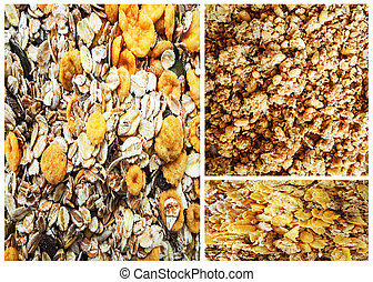 Muesli collage