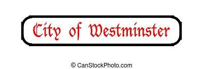 muestra de la ciudad, westminster