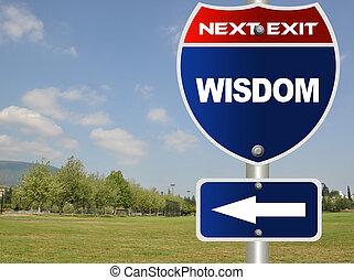 muestra del camino, sabiduría