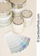 Muestras,  Color, Pintura, lata, hogar, Decorar