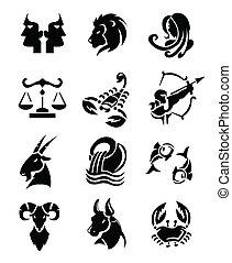 muestras del zodiaco, conjuntos