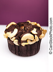 Muffin cake with chocolate - Muffin cake