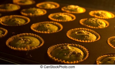 muffin cup cake -  sweet muffin cup cake