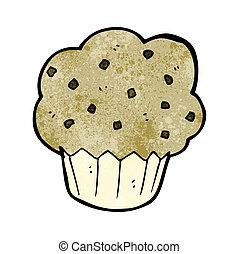muffin, dessin animé