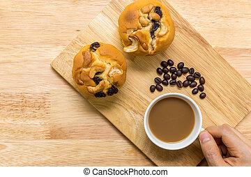Muffin for Coffee Break / Muffin for Coffee Break Background