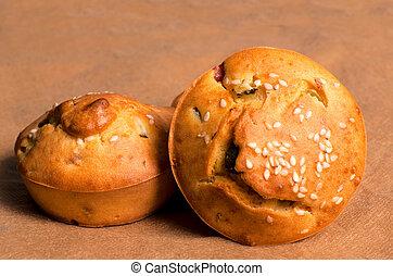 muffin, francais