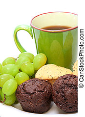 muffin, petit déjeuner