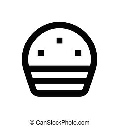 muffin  pixel perfect icon