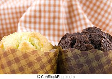muffins, altmodisch
