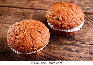 muffins, myrtille