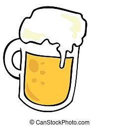 mug., bière