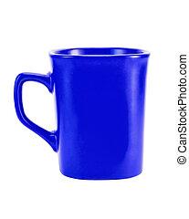 Mug high dark blue