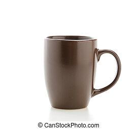 Mug isolated on white