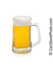 Mug of Beer With Foam Top