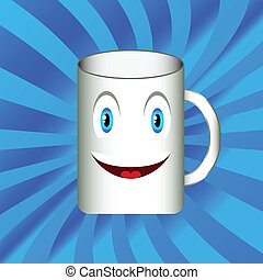 Mug with a smile