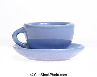 Mug with saucer