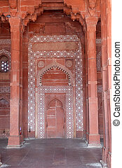 mughal, pradesh, uttar, ciudad, emperador, fatehpur, ...